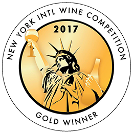 New York International Wine Competition 2017 Gold Winner